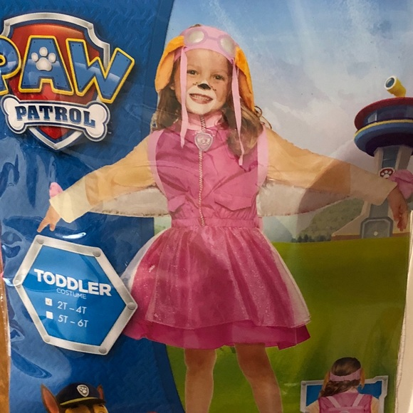 halloween costume paw patrol skye